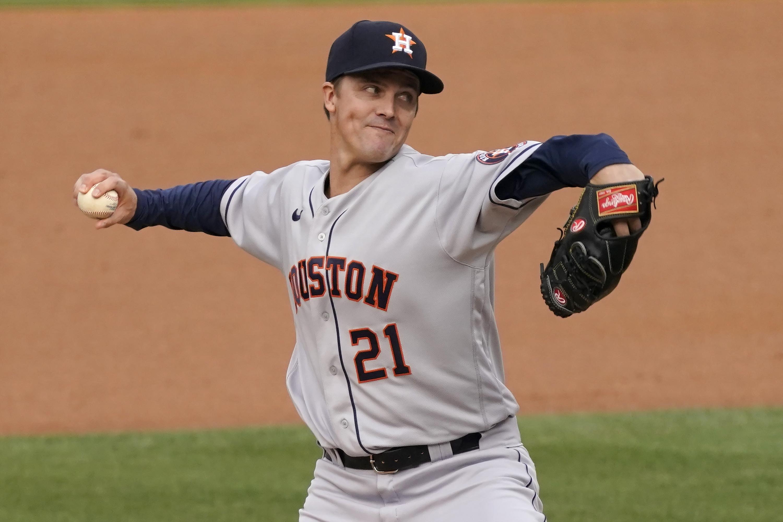 Astros name Zack Greinke their Opening Day starter
