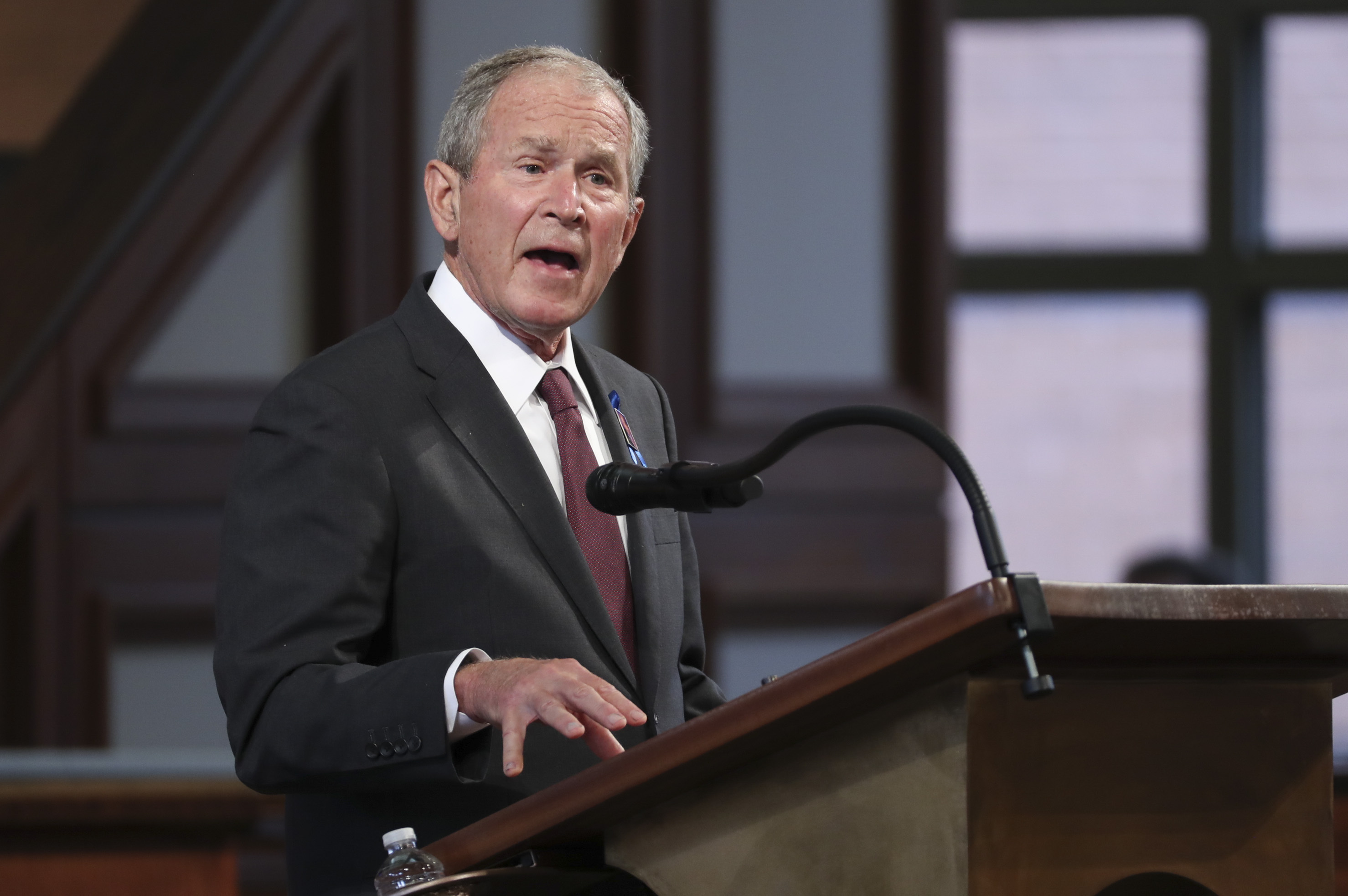 Sickening and heartbreaking sight': Former President George W. Bush speaks  about US Capitol storming