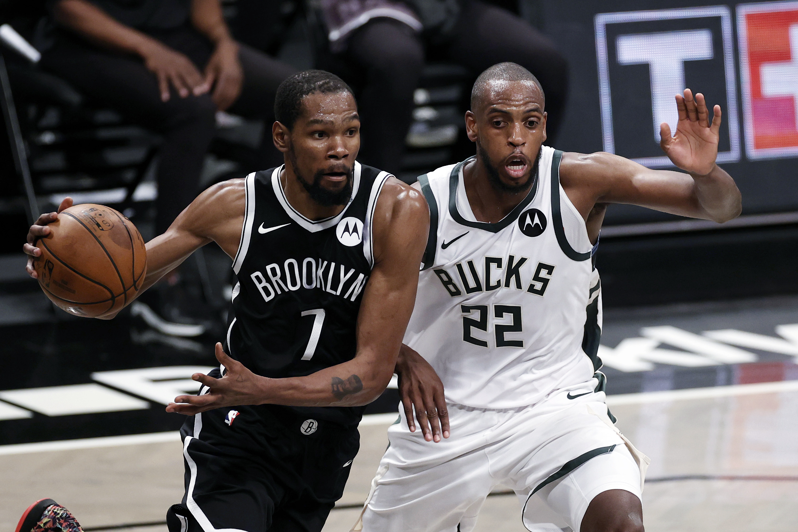 Bucks drop game one against Nets 115-107