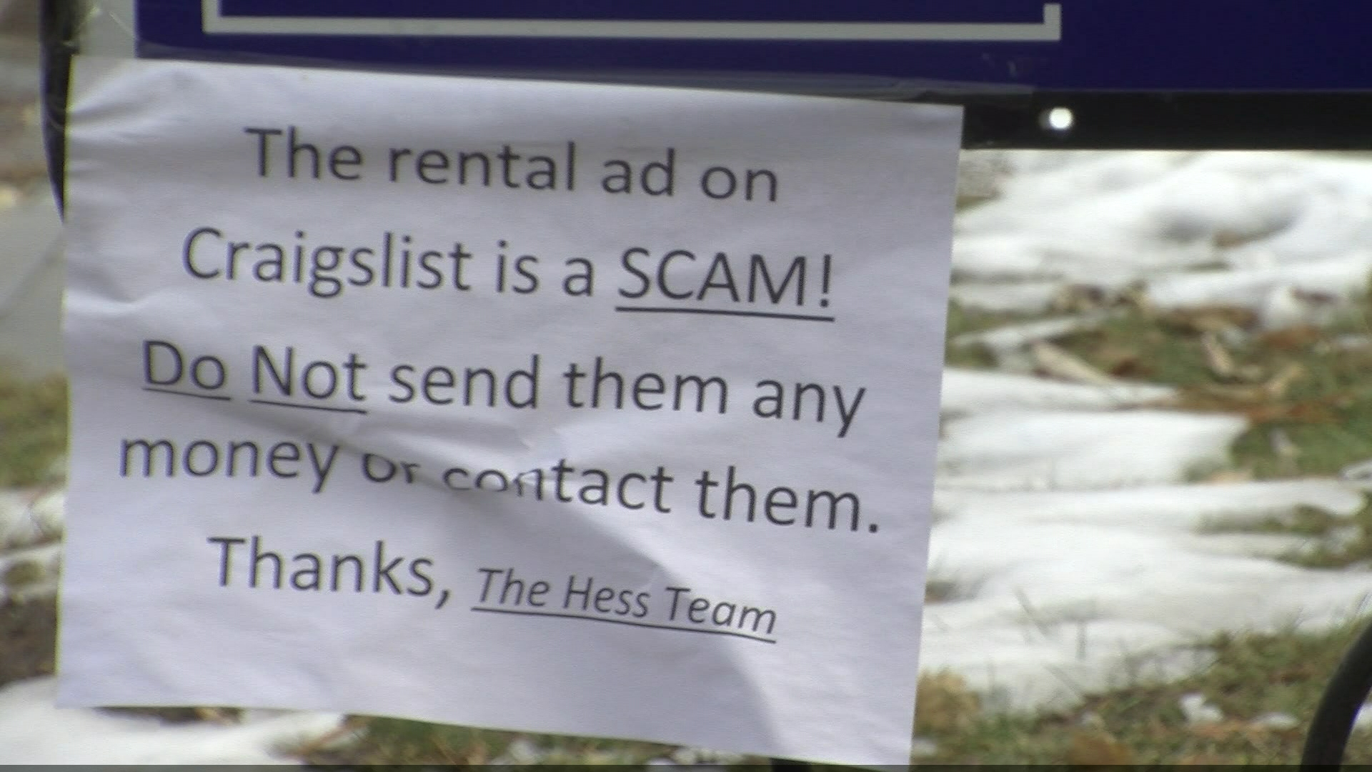 Craigslist Scammers Target Renters Advertising on this community website can be easy and effective. kmvt