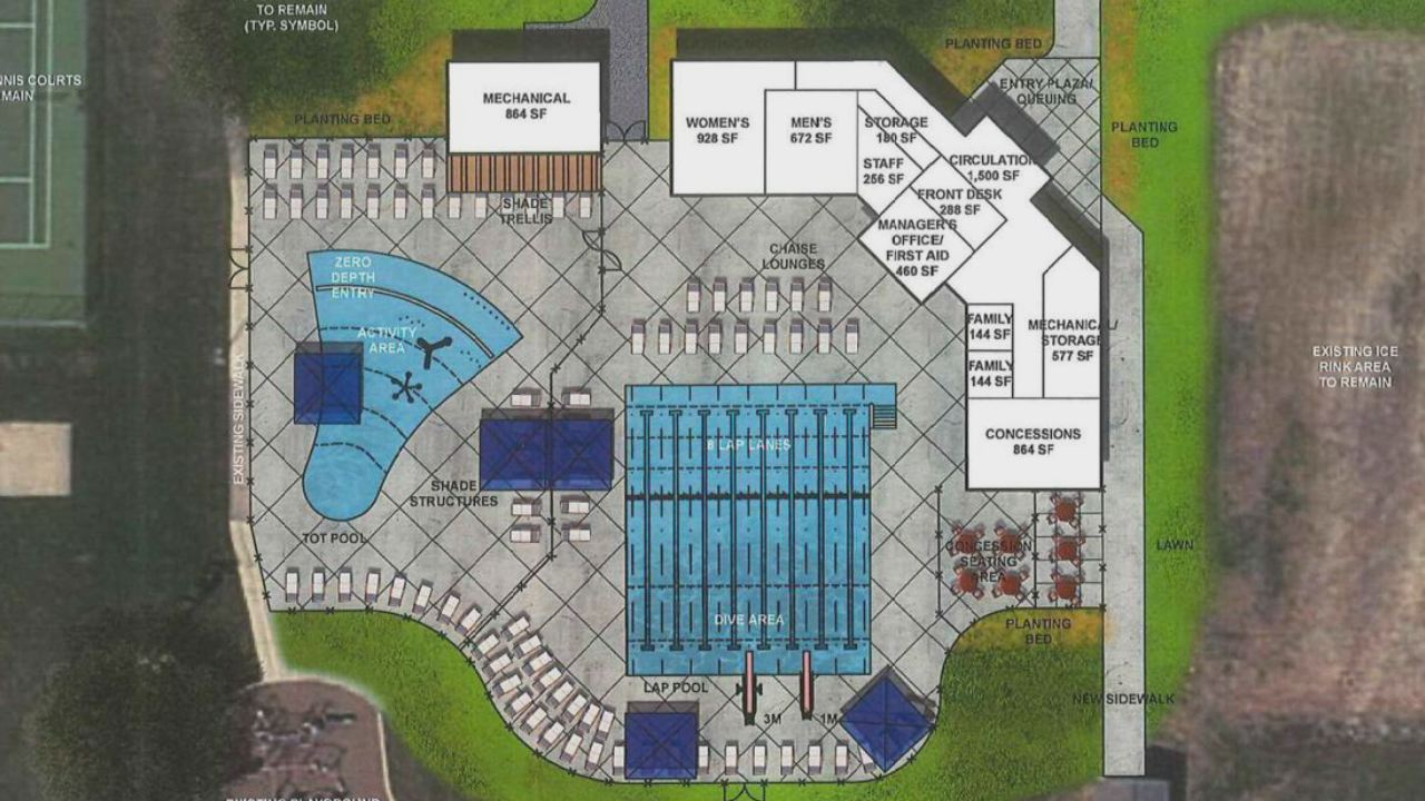 Proposed Designs Change For De Pere S Legion Pool Causing Concern