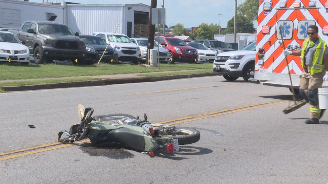 Injury After Motorcycle Vs Car Accident In Bowling Green
