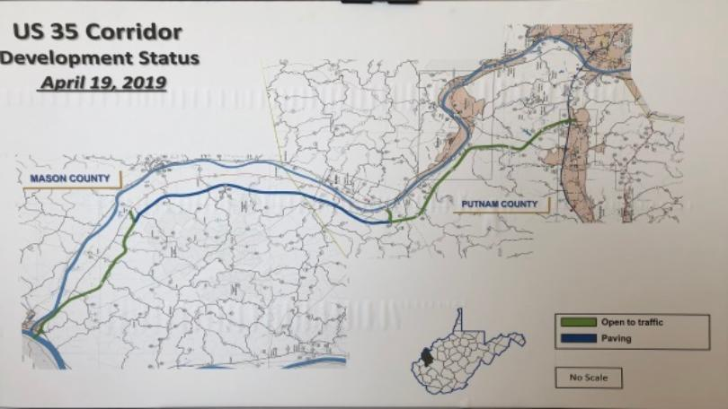 Us 35 Construction West Virginia Map $51 million Route 35 upgrade due to be finished in fall of 2020