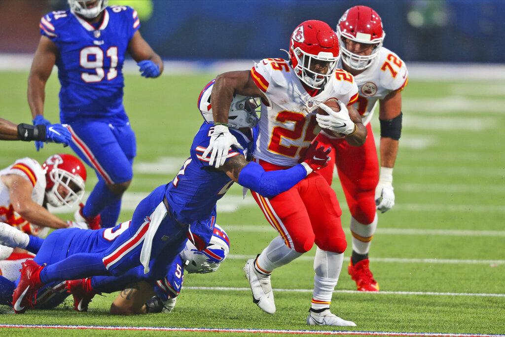 Kansas City Chiefs, Edwards-Helaire run away with 26-17 win over Bills