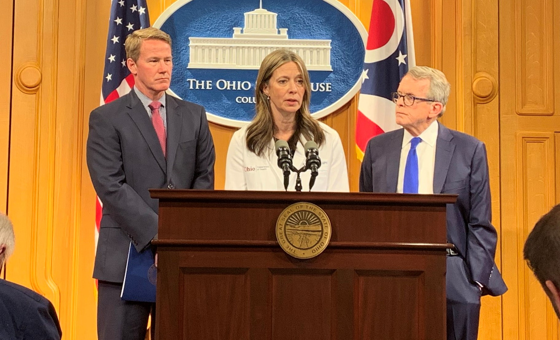 Governor Dewine To Provide An Update On State S Covid 19 Response After Three Cases Confirmed In Ohio