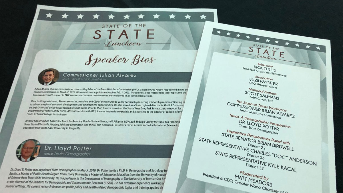 Waco Local Leaders Get Some Insight On The State Of The State