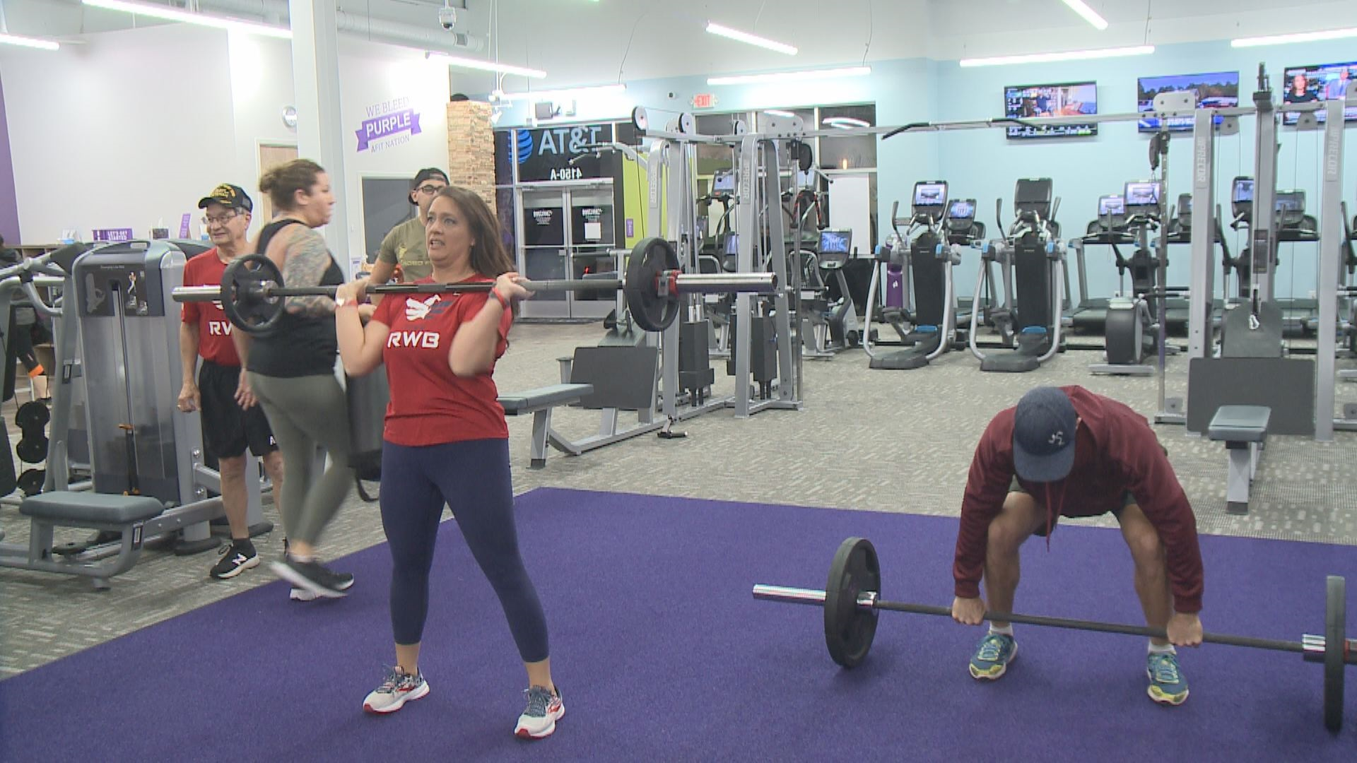 Team Rwb Hosts Special Fitness Workout For Veterans Day