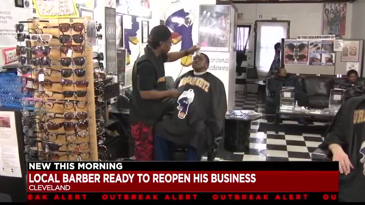 Cleveland barber says many barbershops and salons are ready to ...