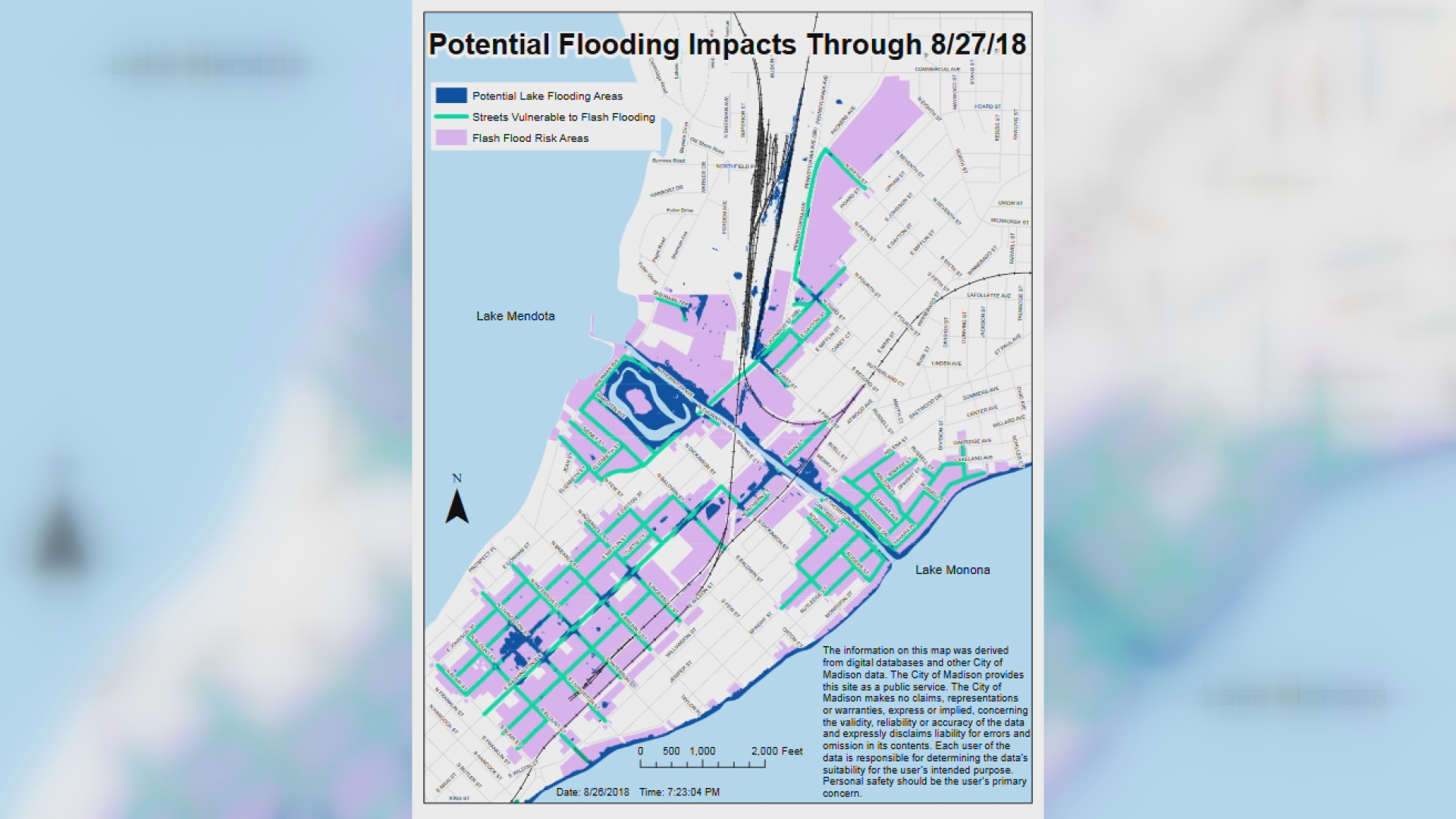 Madison Releases New Flood Map Tuesday