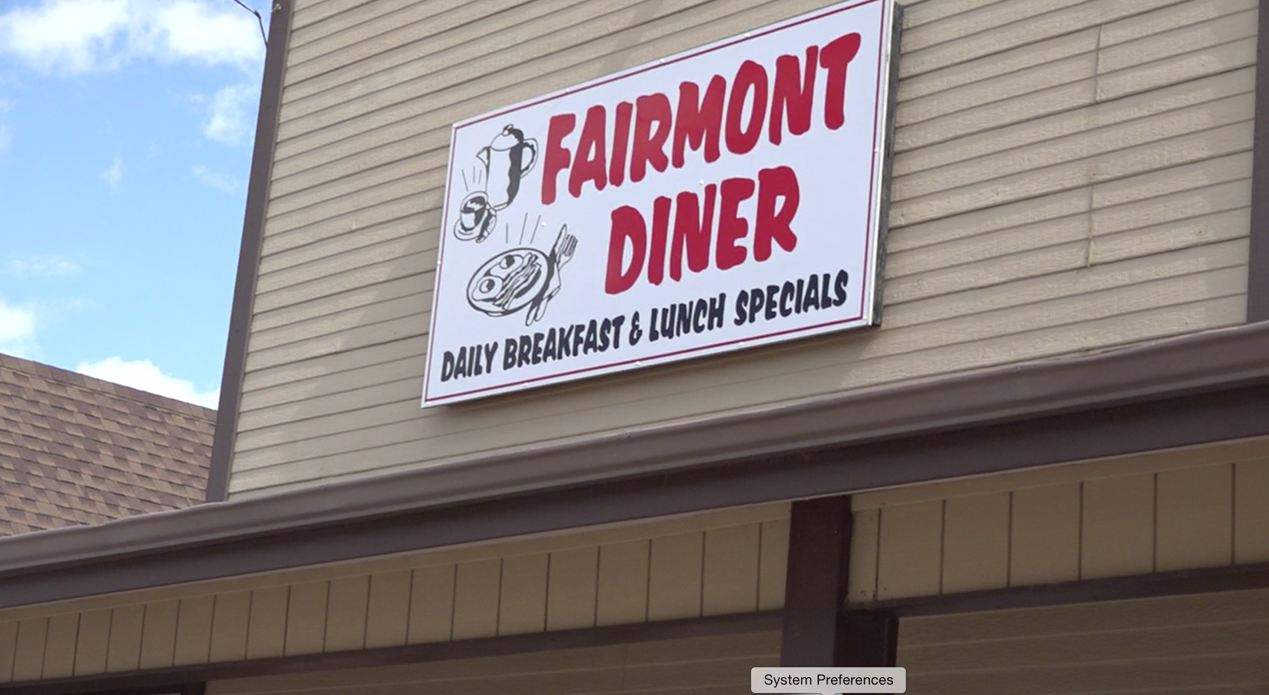 The Fairmont Diner is open for dine-in seating