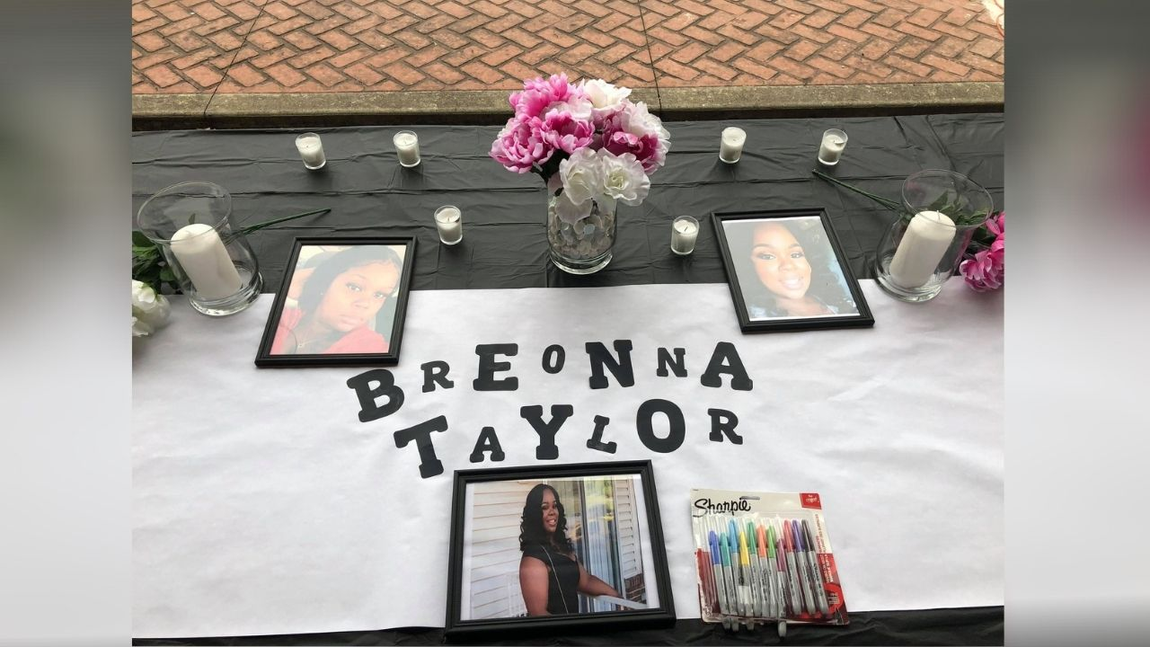 Peaceful Candlelight Vigil Held For Breonna Taylor In Hazard