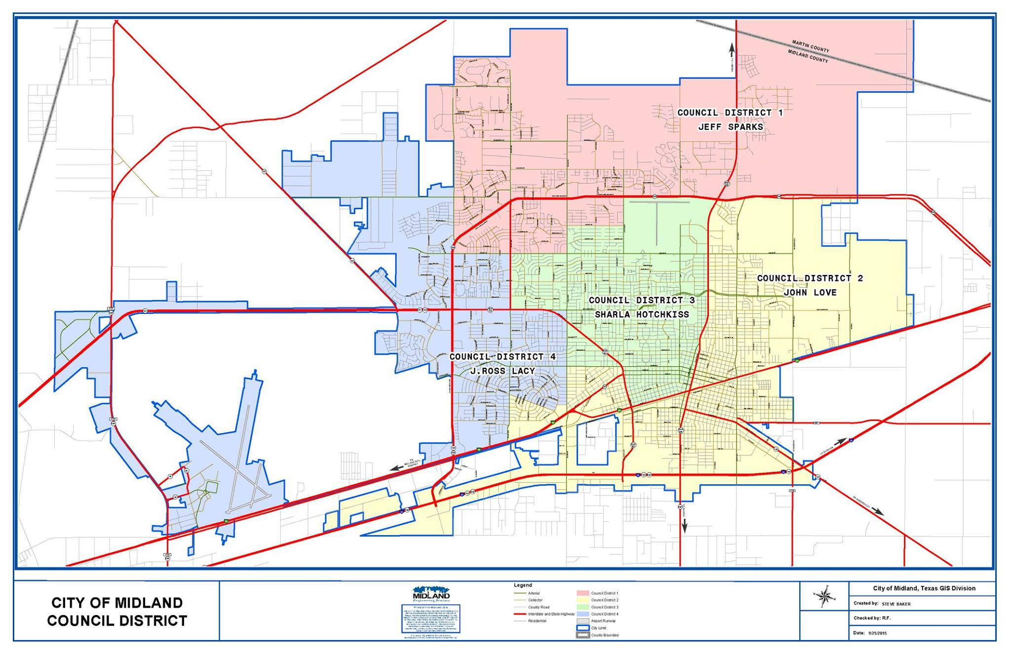 City Of Midland To Hold Public Meetings For District 2 Improvements