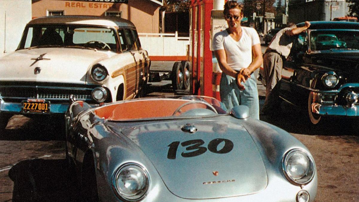 """El Porsche con el que James Dean tuvo su accidente tenía su nombre en honor a """"El principito"""", libro del que el actor era fanático."""