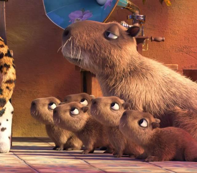 Disney lanzará una película… ¡con carpinchos!   Cine   La Voz del Interior