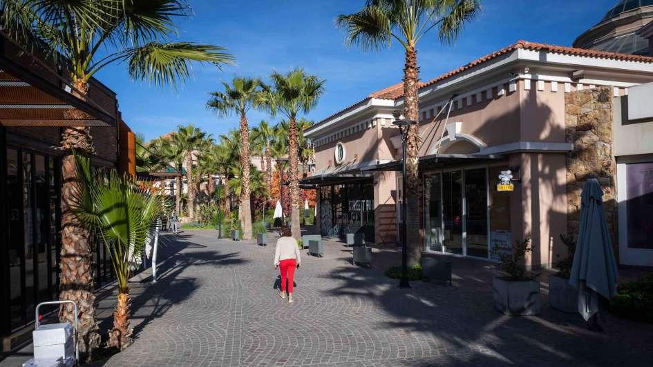 Palmares Open Mall - Ignacio Blanco / Los Andes