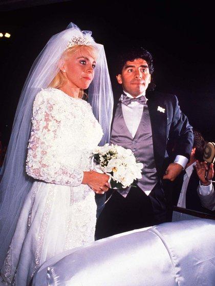 El modelo de casamiento para Claudia Villafañe.