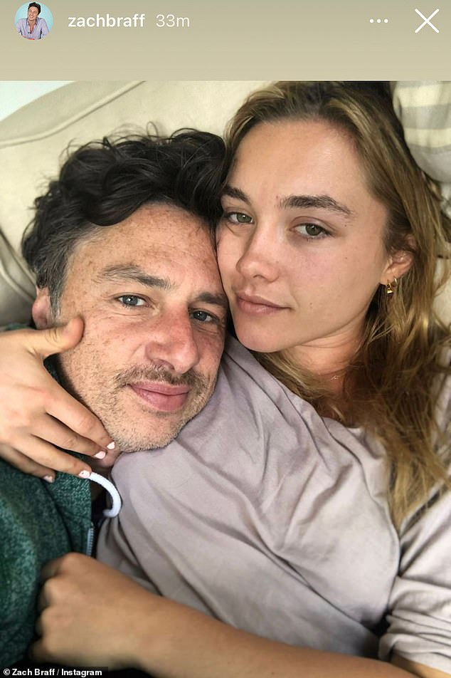 Florence Pugh furious with those who criticize her relationship with Zach Braff    Look    The voice of the interior