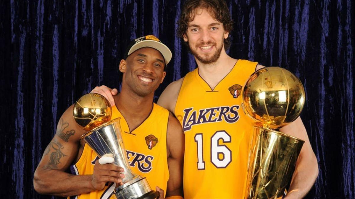 El español fue campeón de la NBA de la mano de Kobe.