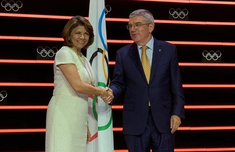 Laura Chinchilla fue juramentada este miércoles como miembro del Comité  Olímpico Internacional – La Nación