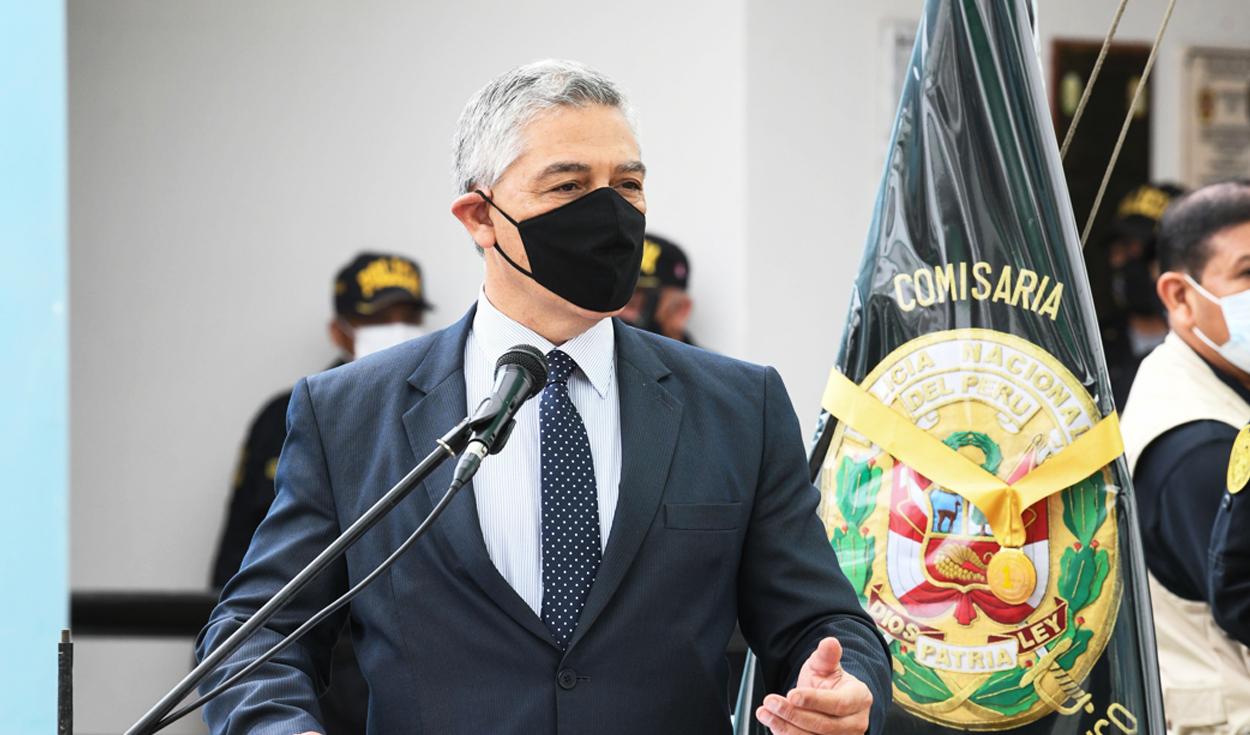José Elice, exministro del Interior.