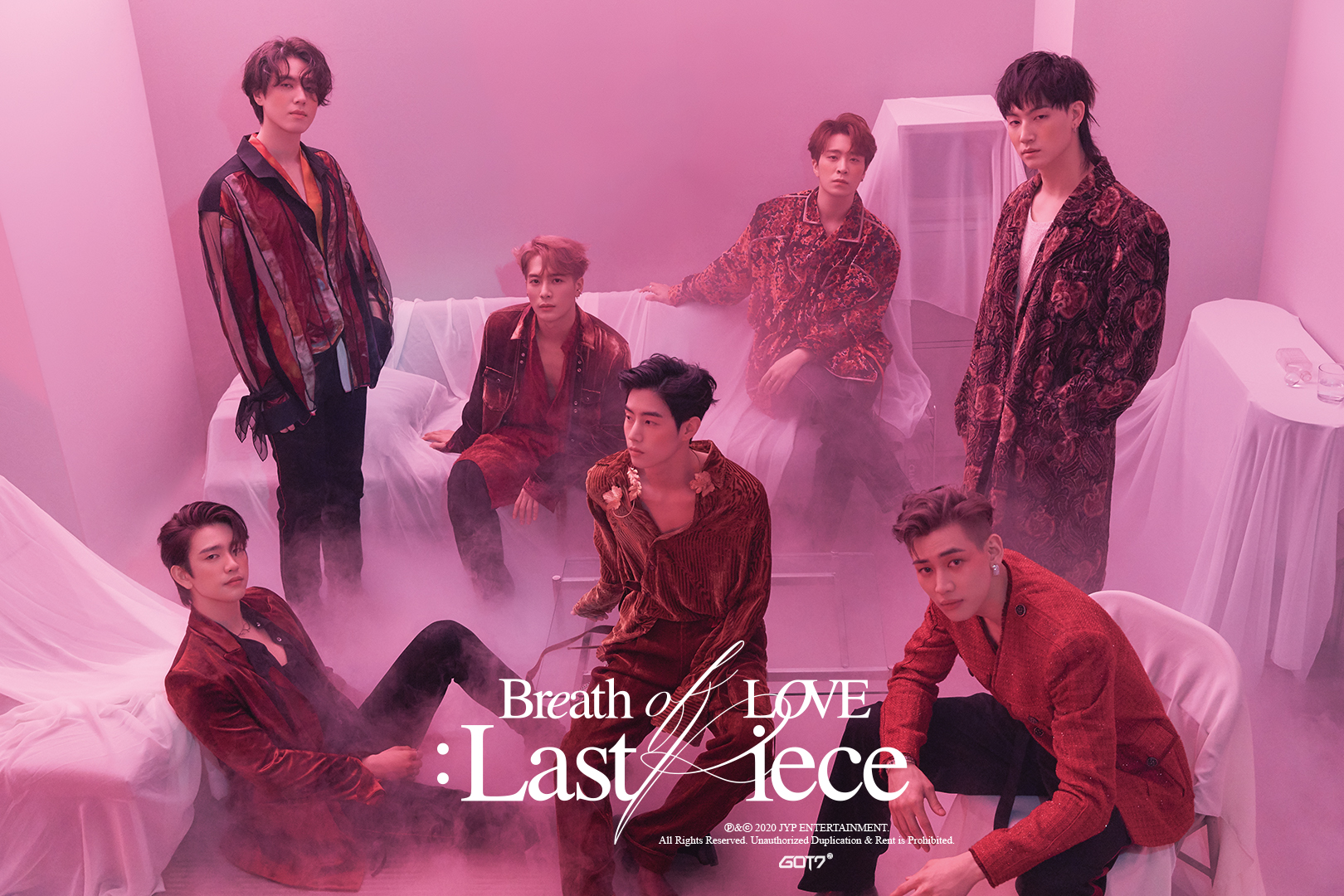 Breath of love: Last piece de GOT7 incluye pistas creadas por los miembros  | La República