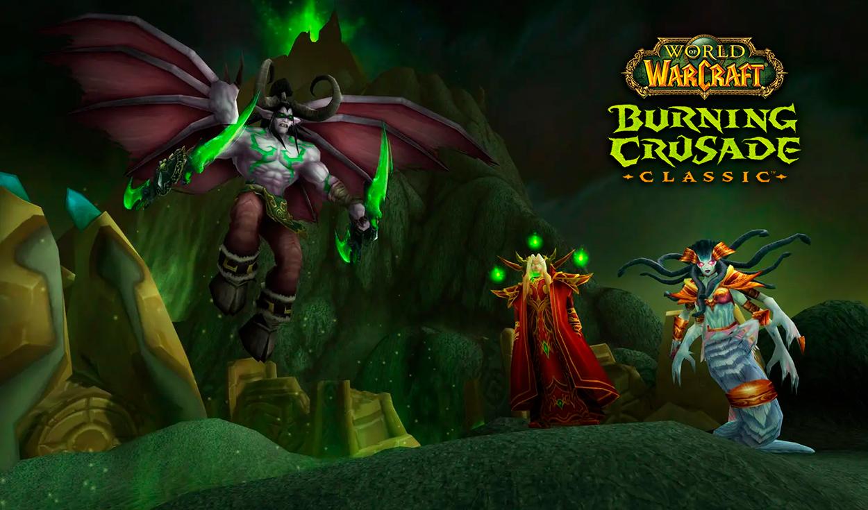 World of Warcraft Classic hace oficial el estreno de The Burning Crusade