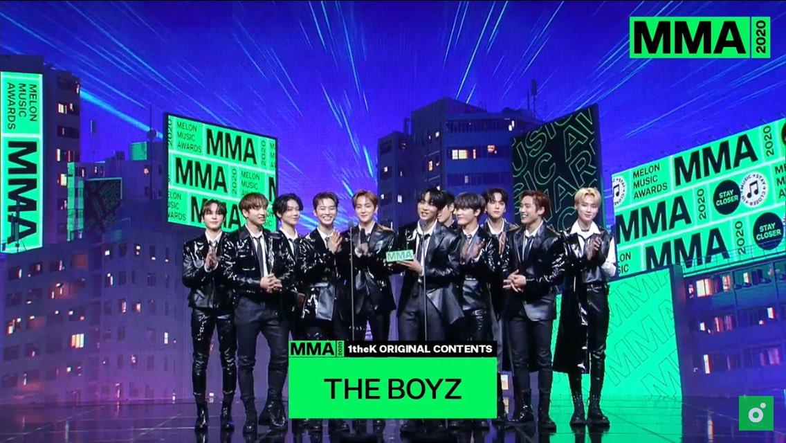 Melon music awards the boyz
