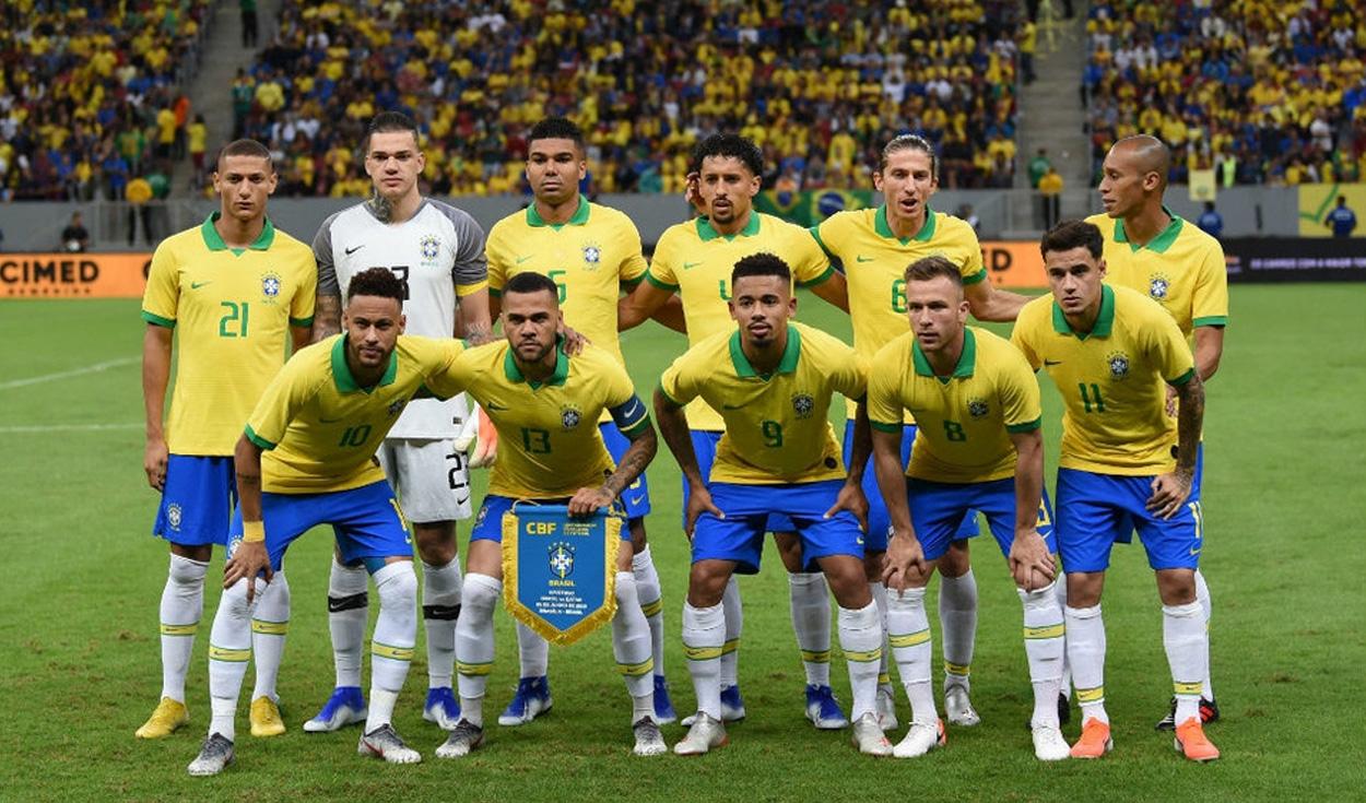 Formación de Brasil.