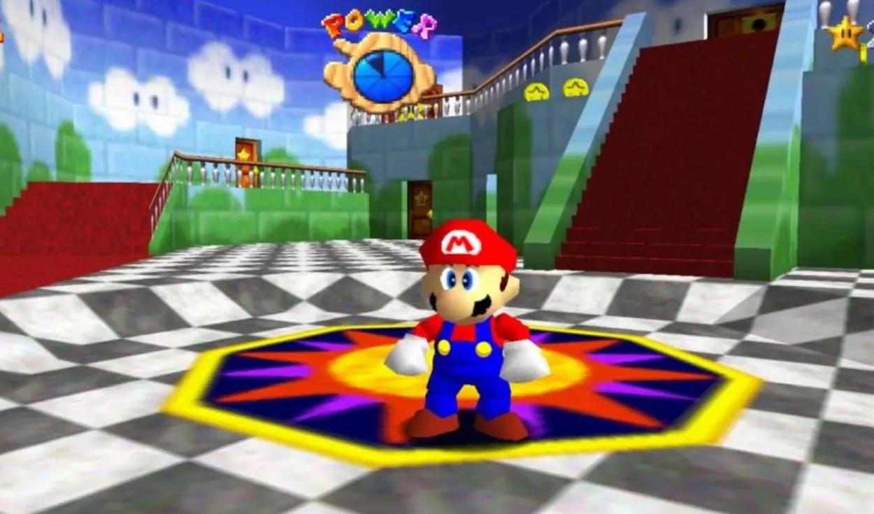 Super Mario 64: el juego que regresó a la cima a Nintendo, luego de la desastrosa Virtual Boy