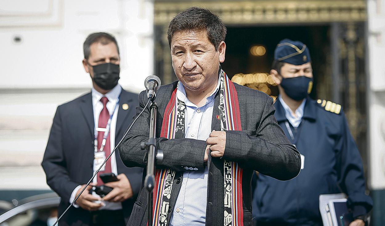 """Guido Bellido: """"Recursos estratégicos no pueden seguir en manos privadas en perjuicio del pueblo"""""""