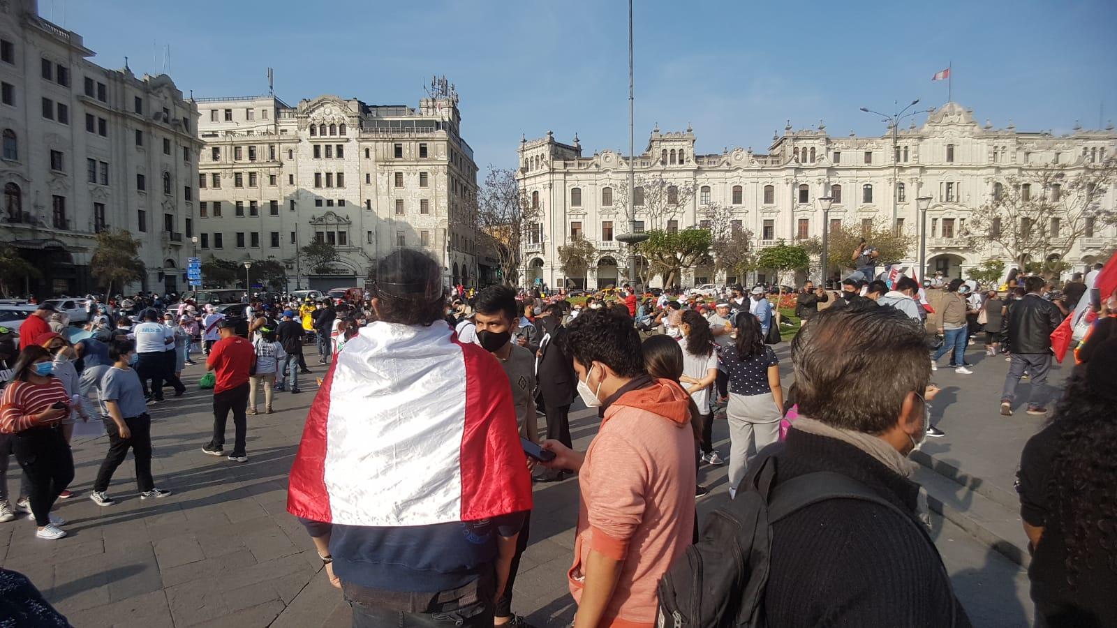 Inicia gran marcha nacional