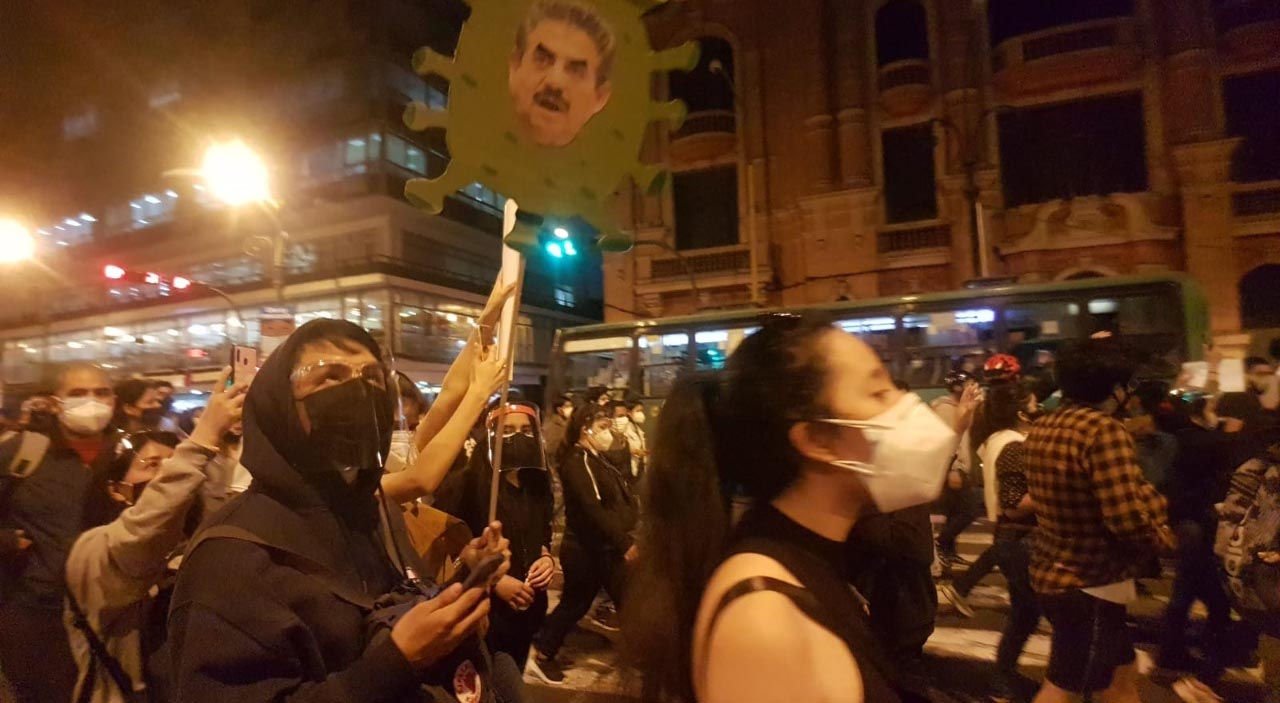 Protesta Cercado de Lima
