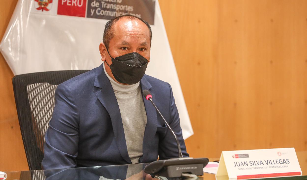 Ministro de Transportes: Gobierno de Castillo no tiene que ver con terrorismo