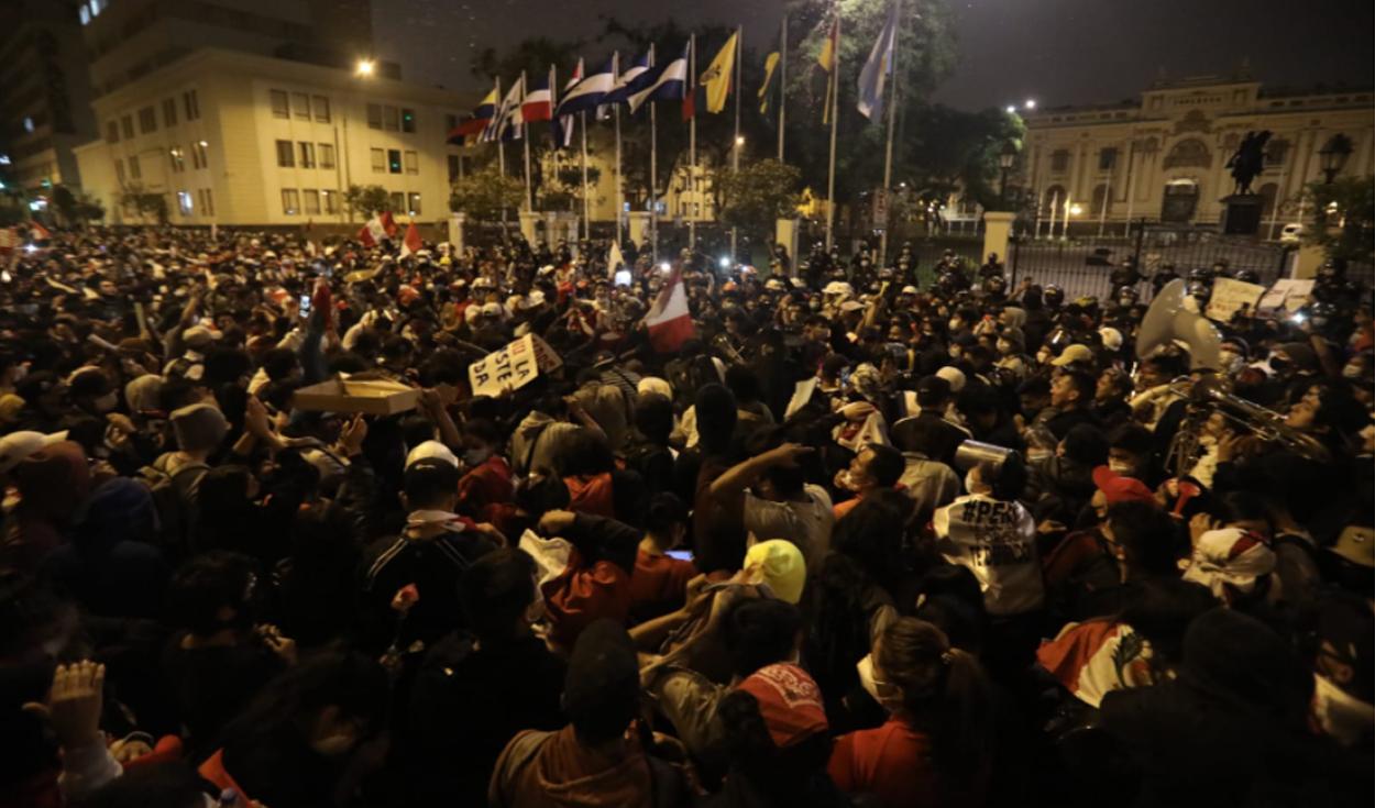 protestas congreso
