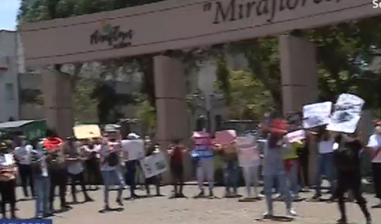 Protestas en el Cercado de Lima