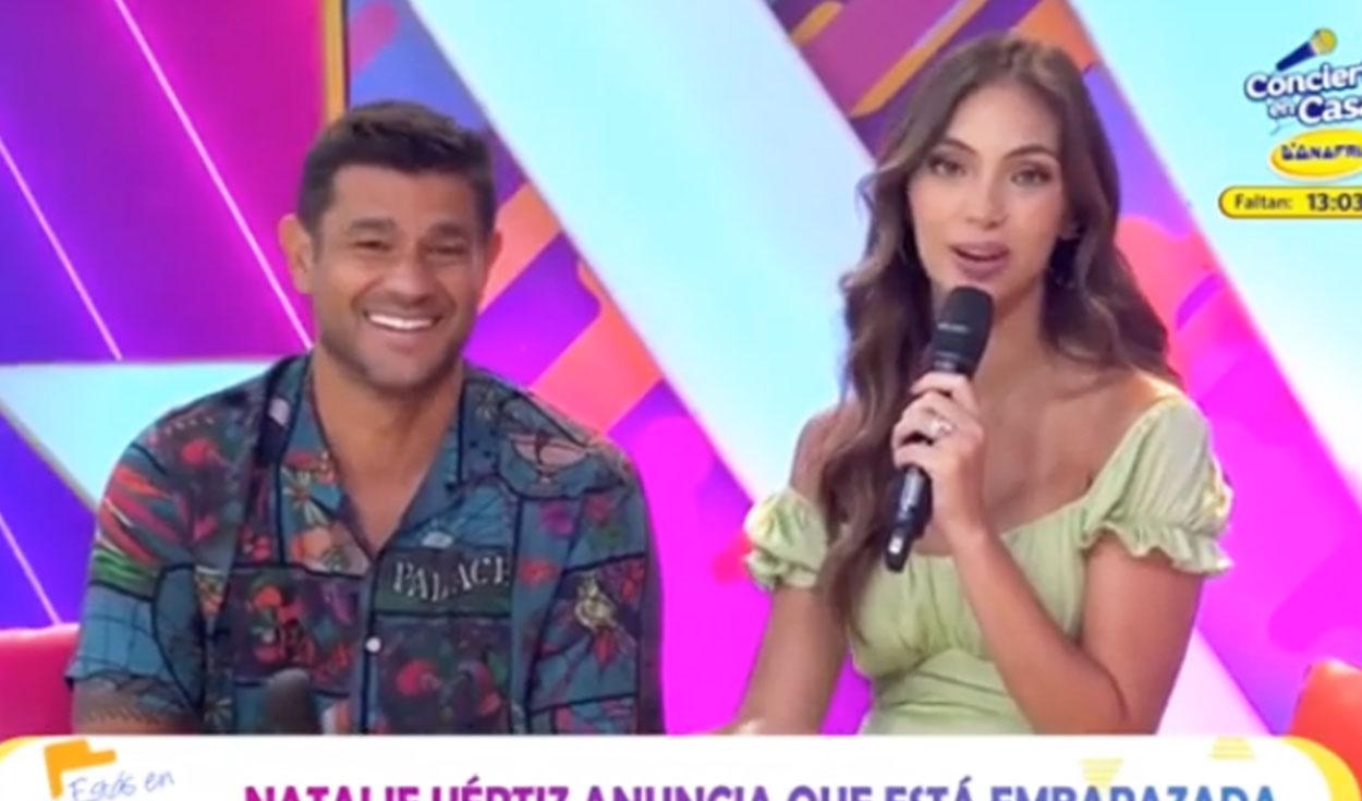 Natalie Vértiz confirma su segundo embarazo junto a Yaco Eskenazi