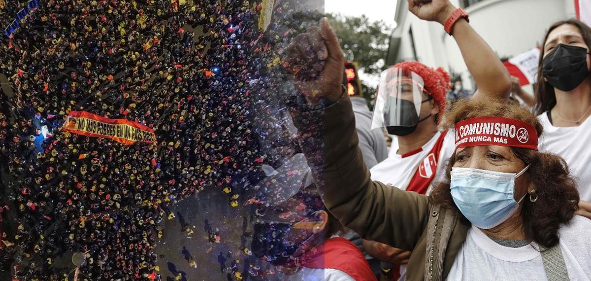 [EN VIVO] Sigue la marcha de simpatizantes de Perú Libre y Fuerza Popular
