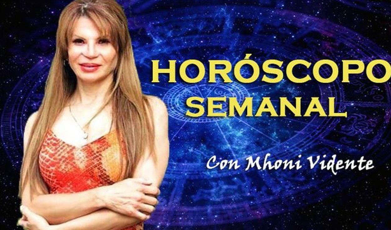 Horóscopo semanal del 19 al 25 de julio por Mhoni Vidente