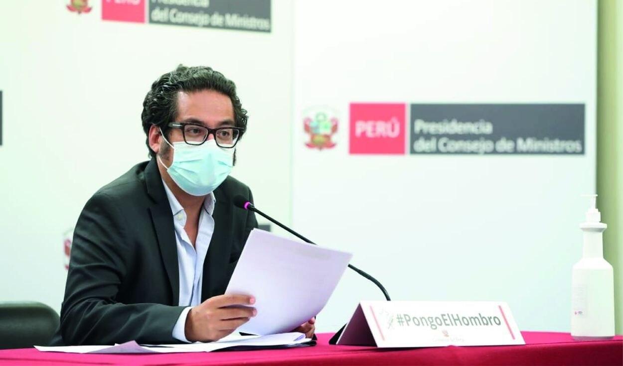 Ministros ofrecieron balance de acciones del Ejecutivo frente a la pandemia