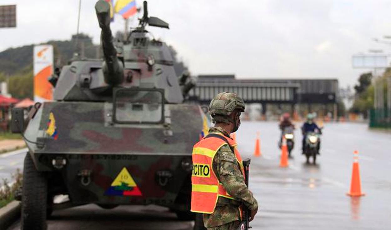 protesta Colombia