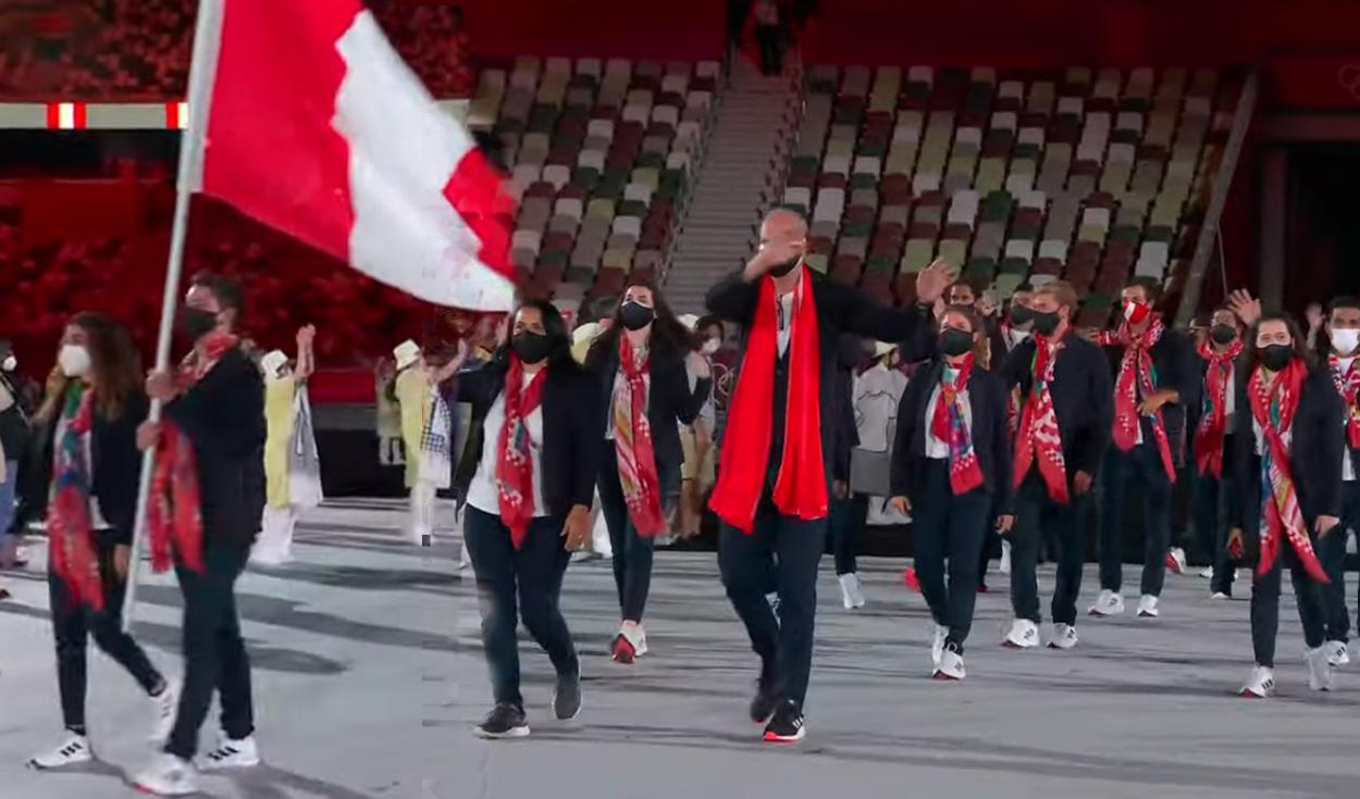 ¡Perú en Tokio 2020! Así fue el emocionante desfile de la delegación nacional en los Juegos Olímpicos