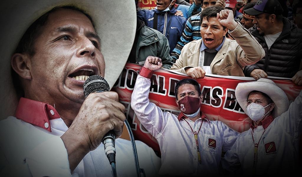Pedro Castillo: la mochila de las huelgas y el factor Cerrón