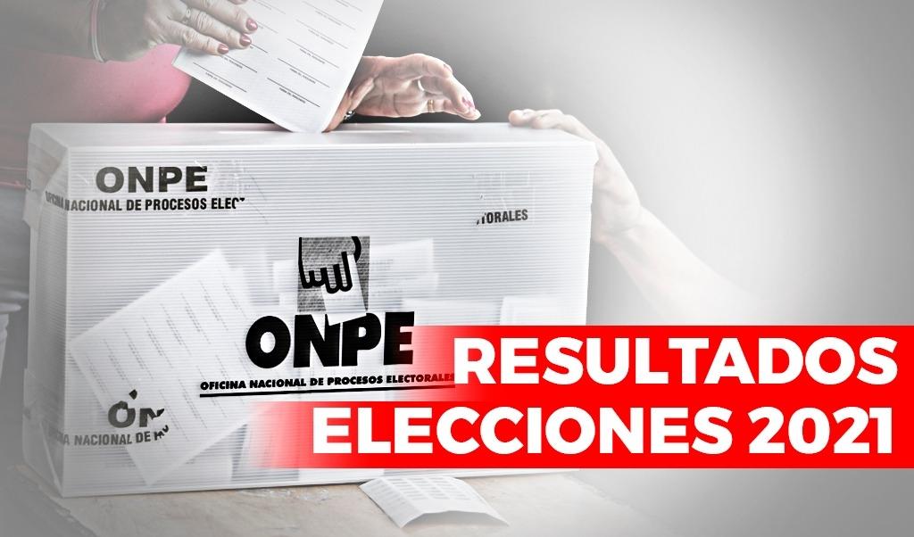 Resultados de las Elecciones Generales 2021