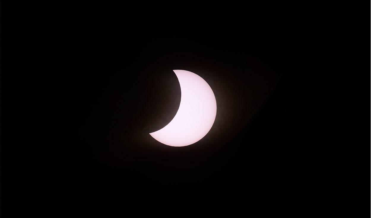 Eclipse en Neuquén, Argentina