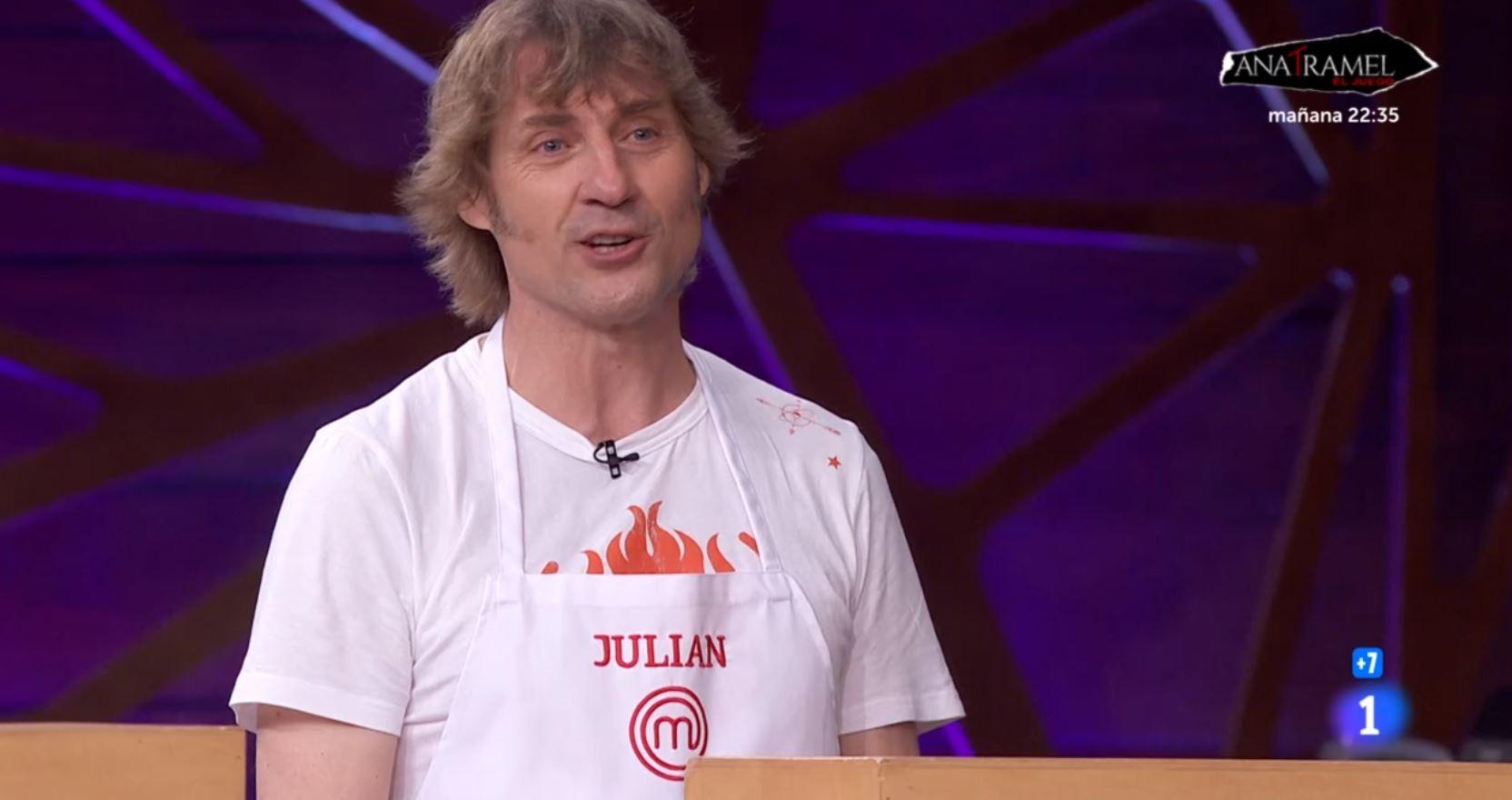Julián Iantzi habla sobre su ausencia
