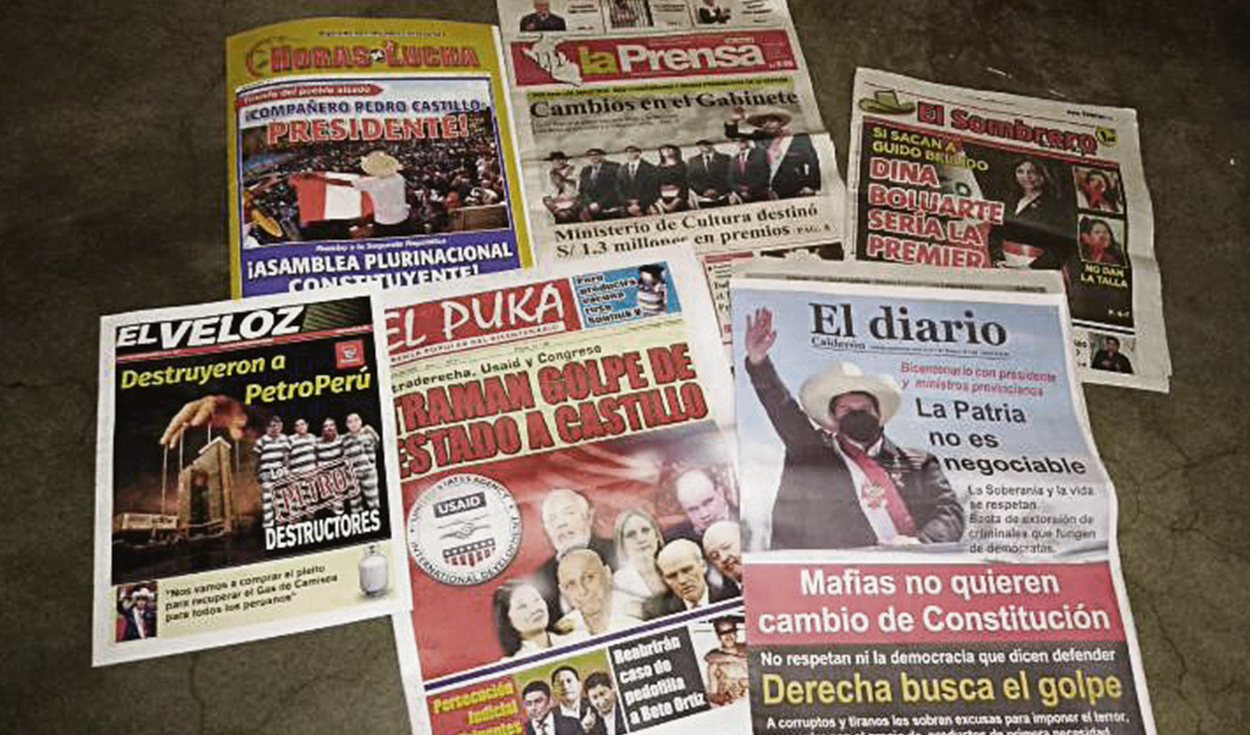 Circulan nuevos medios a favor de Castillo y Cerrón