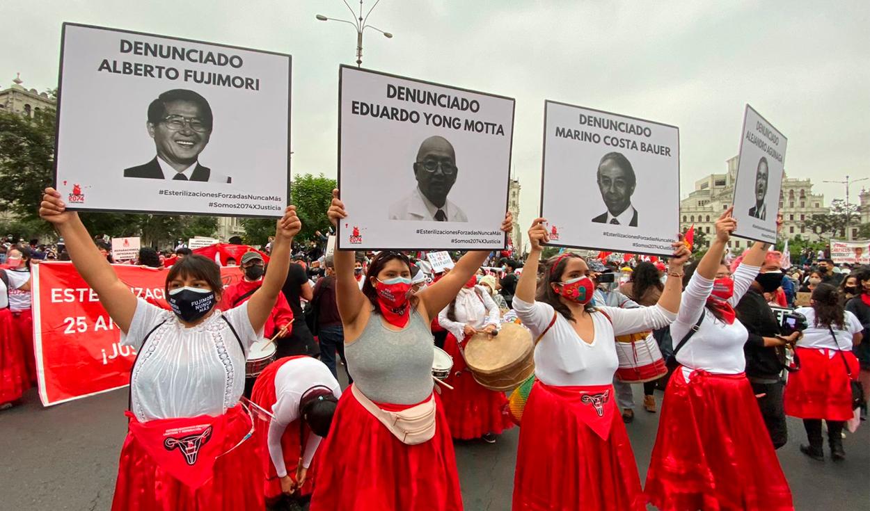Marcha en contra de Keiko Fujimori. Fotos: Raul Egusquiza /URPI-GLR