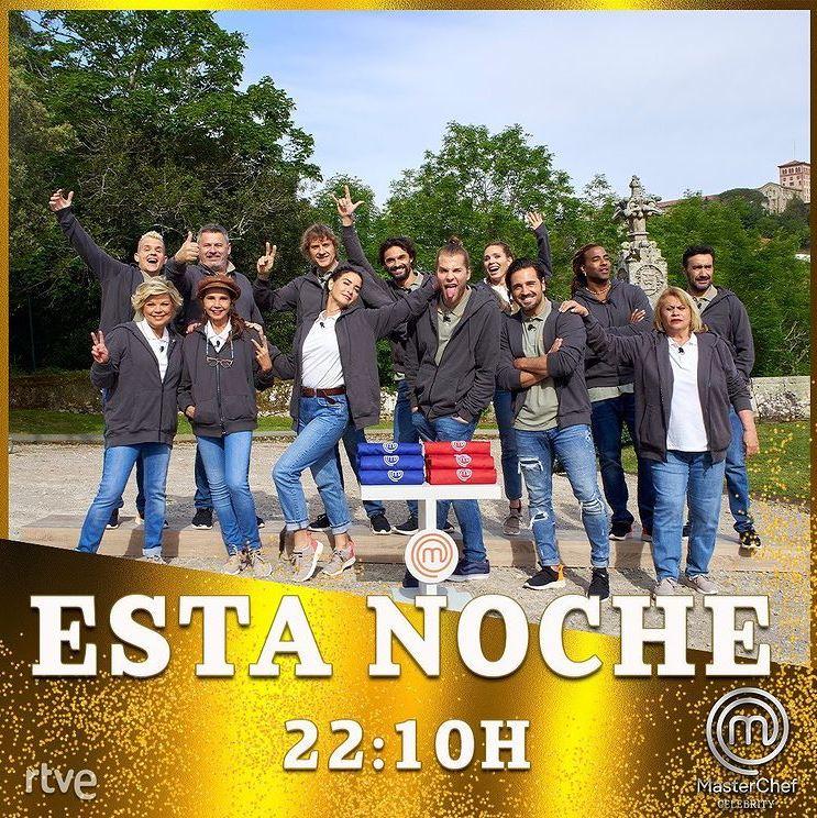 A las 10:10 p.m. (hora de España) inicia el programa Masterchef Celebrity España. Foto: Instagram