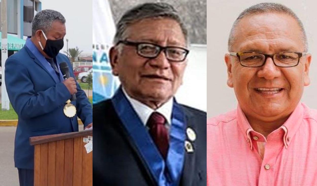 Fallecen los alcaldes de Pucusana, Lurín y Punta Negra por COVID-19