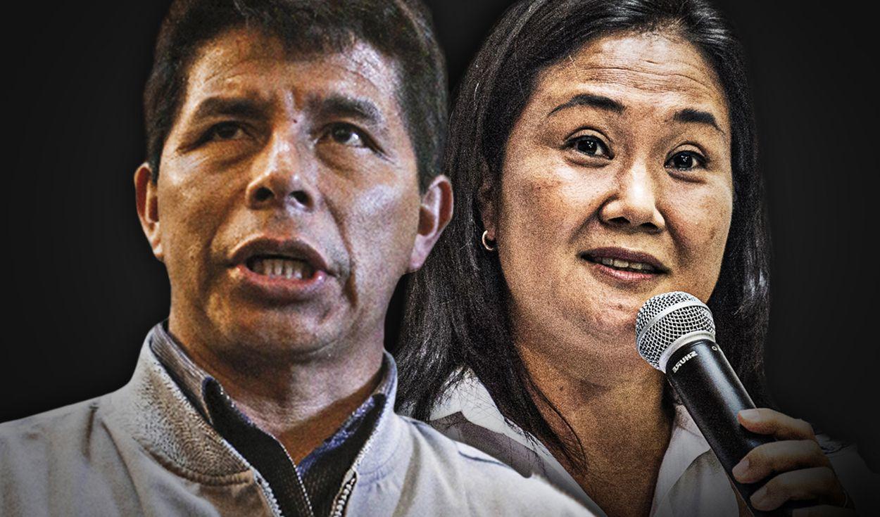 Pedro Castillo se impone sobre Keiko Fujimori en regiones del interior del país